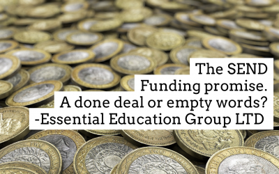 Great! More SEND funding (But is it really all great news?)