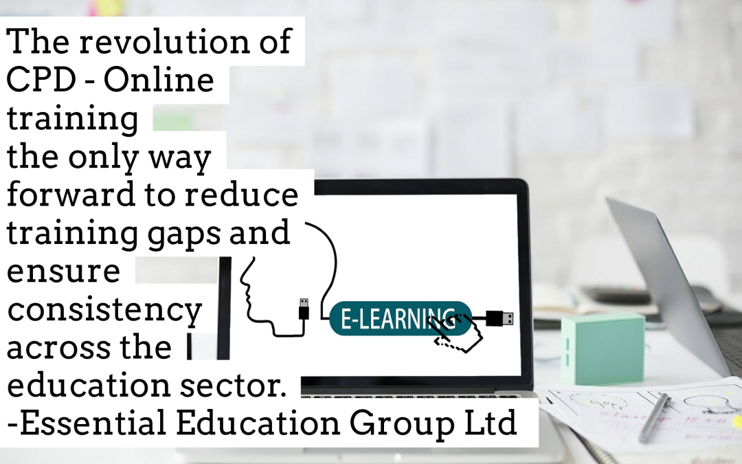 Why online training for schools is the way forward